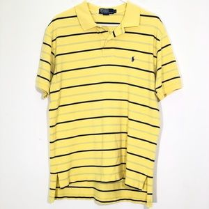 Polo by Ralph Lauren Yellow Striped S/S Polo Shirt